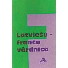 Latviešu - franču vārdnīca 20 t.v.
